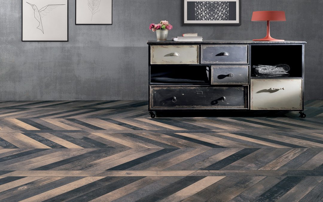 Chevron Chic Burnt de